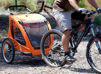 Cocoon X2 as a Bike Trailer