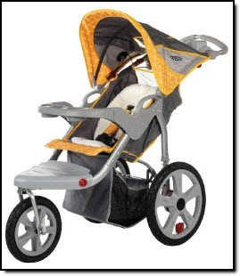 Instep Safari Double Stroller Car Seat