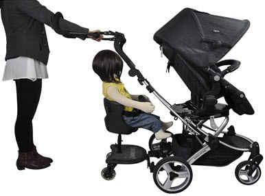 Jogging Stroller Handle Extender
