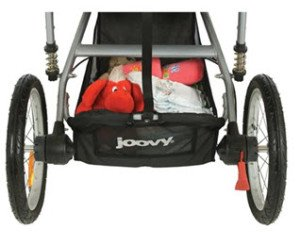 Joovy Zoom ATS Rear View Without Axle