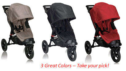 Baby Jogger City Elite 3 Colors