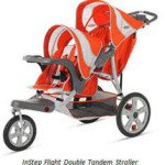 InStep Flight or Safari Double Tandem Stroller – Affordable Easy to Turn Baby Joggers