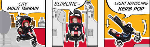 Phil and Teds Dot Stroller Features