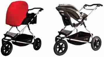 Mountain Buggy Plus One Infant Car Seats