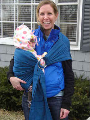Maya Lightly Padded Baby Sling