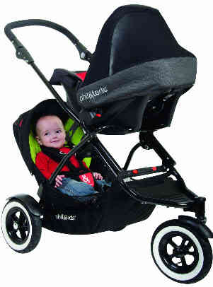 Phil &Teds Classic with Infant Car Seat