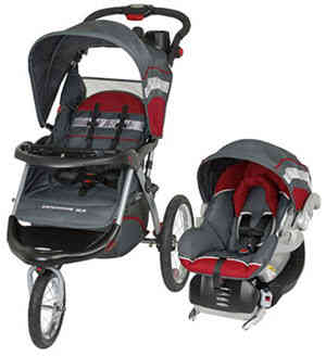 Baby Trend Expedition ELX Jogging Stroller Travel System