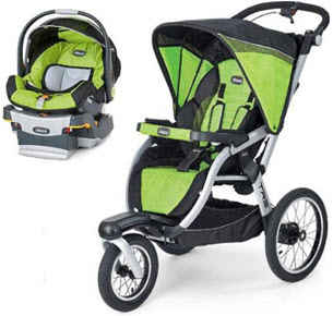 Chicco TRE Jogging Stroller Travel System