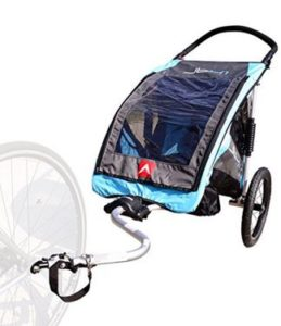 Allen Sports JTX-1 Trailer Swivel Wheel Jogger