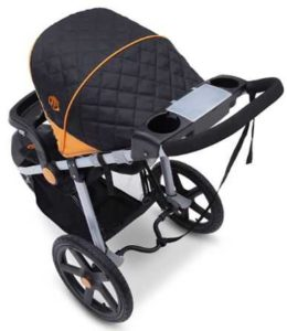 J is for Jeep Brand Adventure All-Terrain Jogging Stroller Safety Features