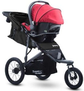 Joovy Zoom 360 Ultralight with Infant Car Seat