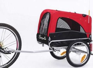 Sepnine 2 in 1 Pet Dog Bike Trailer