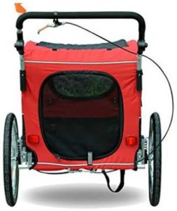 Aosom Elite II Pet Dog Trailer Safety Features