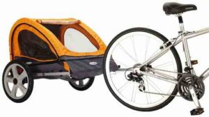 InStep Quick N EZ Double Bicycle Trailer