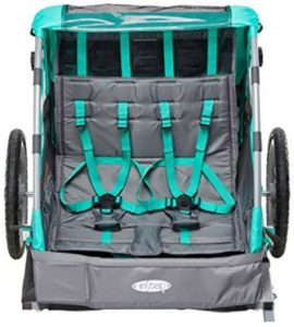 InStep Quick N EZ Double Bicycle Trailer Safety Features
