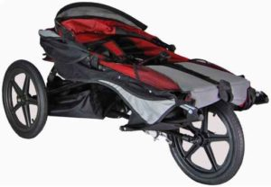 Axiom Improv Mobility Push Chair - Folded