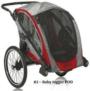 Baby Jogger POD Stroller/Jogger/Bike Trailer
