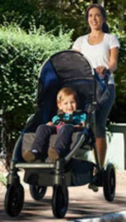 BOB Motion Stroller Baby Comfort Features