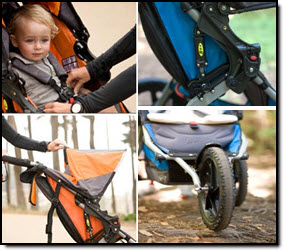 BOB Sport Utility Single Stroller Features