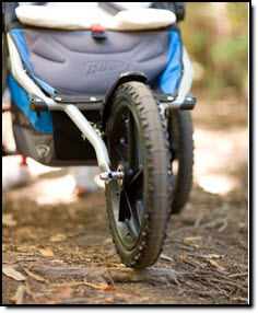 Bob Ironman Single Stroller Fixed Wheel