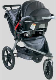 BOB Jogging Stroller with Infant Car Seat