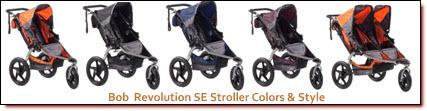 Bob Revolution SE Jogging Stroller Colors & Style