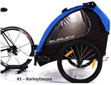 Burley Encore Baby Bike Trailer Stroller