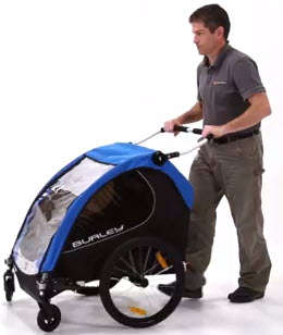 Burley Encore Bike Trailer stroller