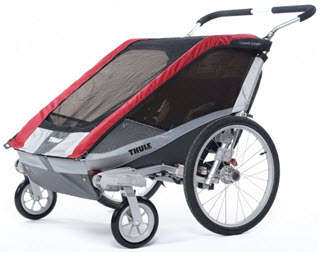 Chariot Cougar 2 Stroller Mode