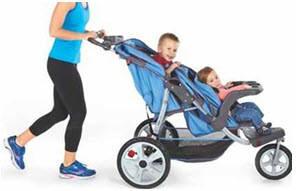 InStep Flight or Safari Double Tandem Stroller – Affordable Easy ...