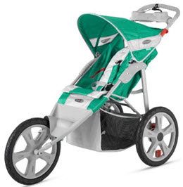 Instep Flash jogging Stroller - Green