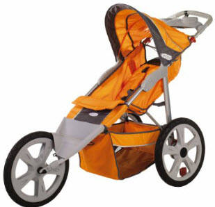 Instep Flash Single Jogging Stroller