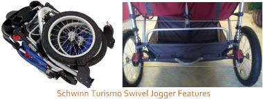Schwinn Turismo Swivel Jogger Features