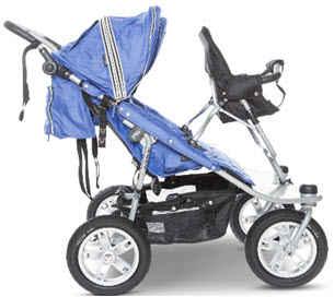 Valco Triple Jogging Stroller