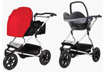 Mountain Buggy Urban Jungle with Carrycot