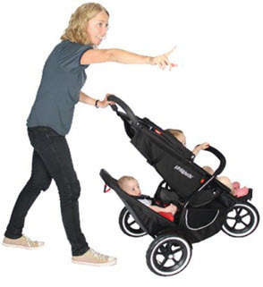 Phil &Teds Classic Stroller Double Seat Kit