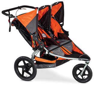BOB Revolution PRO Duallie Double Stroller