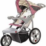 Instep Grand Safari Pink Jogging Stroller