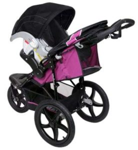 Baby Trend Xcel Jogger Stroller with infant car seat