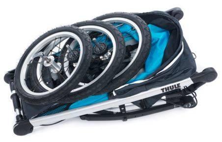 Thule Glide Jogging Stroller Folded
