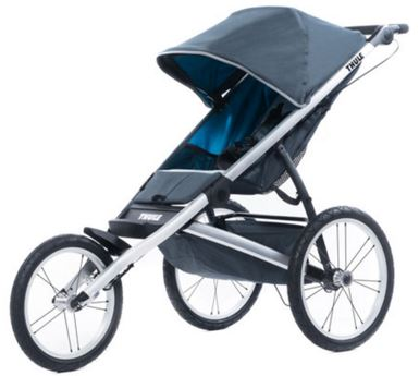 How to turn a fixed wheel jogging stroller