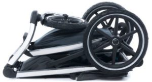 Thule urban glide sports stroller folded