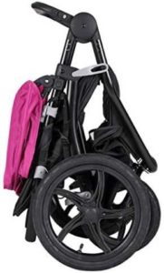 Baby Trend Stealth Jogger Travel System Folded