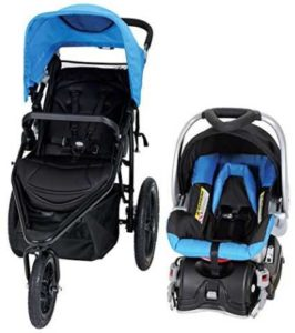 Baby Trend Stealth Jogger with Infant Car Seat