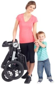 Graco Relay Click Connect Jogging Stroller Compact Features