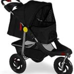 OxGord Pet Stroller Cat Dog 3-Wheel Walk Jogger
