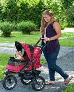 Pet Gear No Zip NV Pet Stroller Jogger