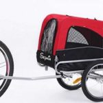 Sepnine 2 in 1 Pet Dog Bike Trailer