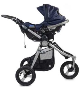 Bumbleride Indie Baby Stroller with Infant Car Seat