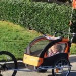 Baby Diego Bike Trailer Stroller for Two Kids